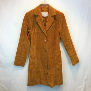 WILSON'S LEATHER Trench Coat Small 4-6 NEW